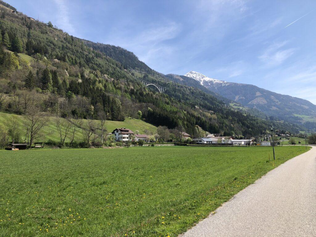 percorso ciclovia alpe adria