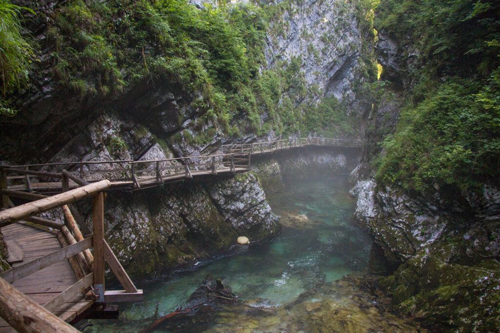 gole di vintgard slovenia percorso