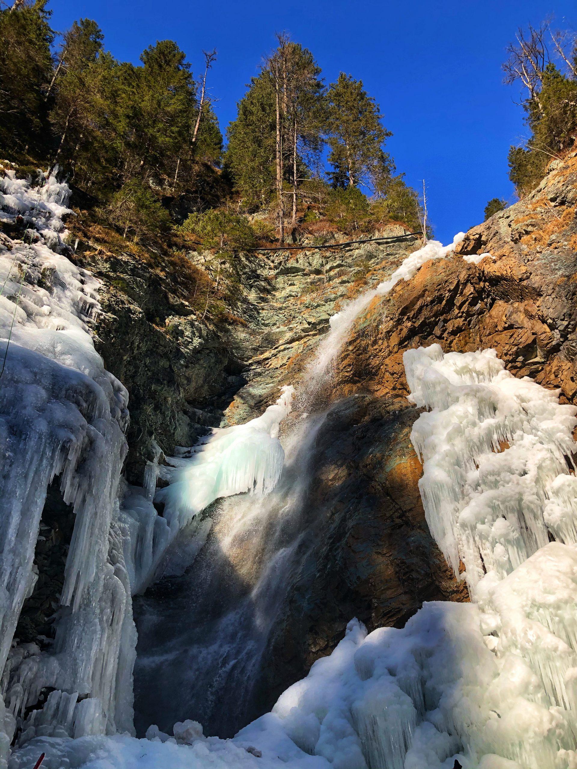 sappada arrampicata sul ghiaccio